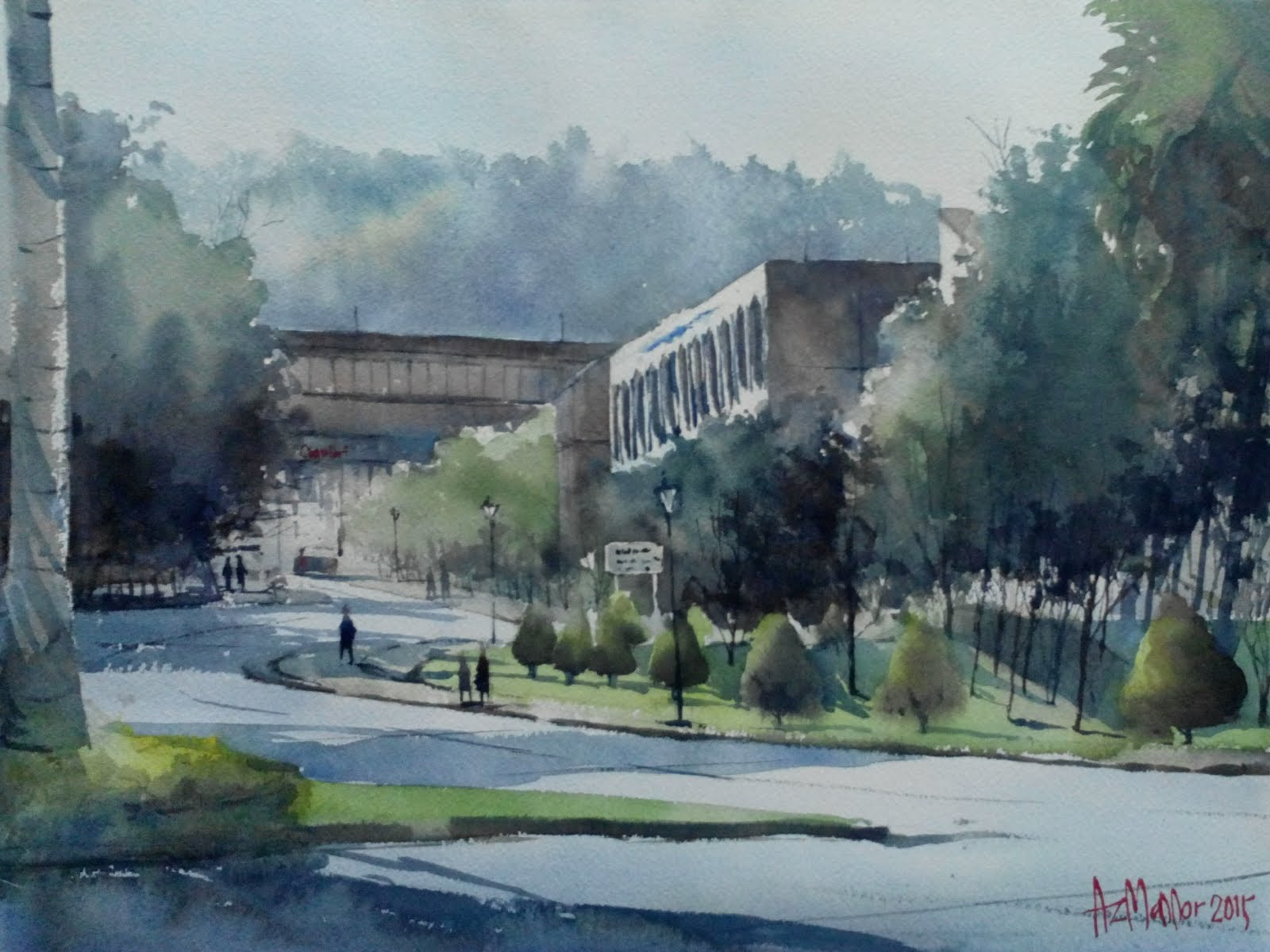 Watercolor: Canselori UKM