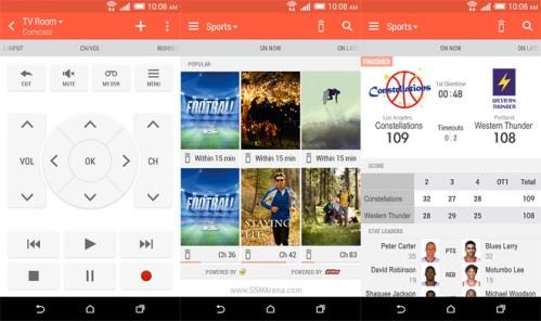Applicazione gratuita sul Play Store Htc Sense TV