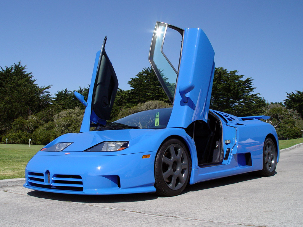 World Of Cars Bugatti Eb110