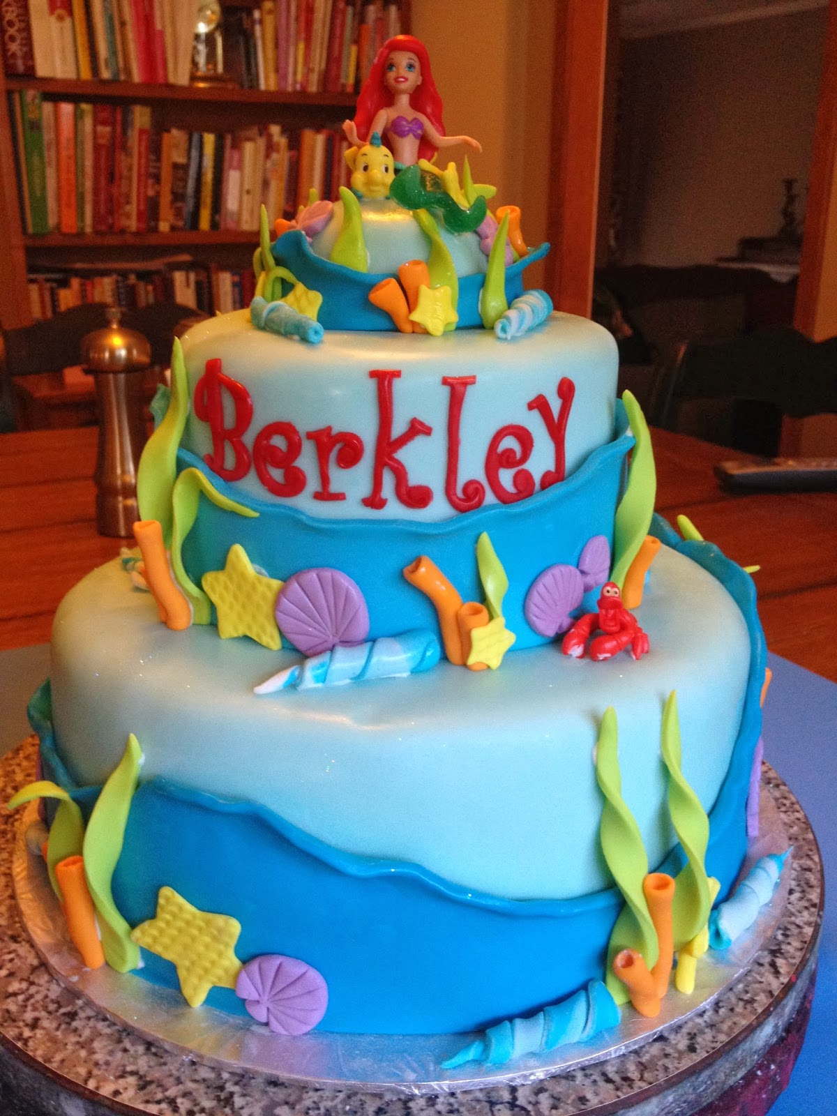 Learning To Fly Cakes and Pastries: Mermaid Berkeley's Birthday!