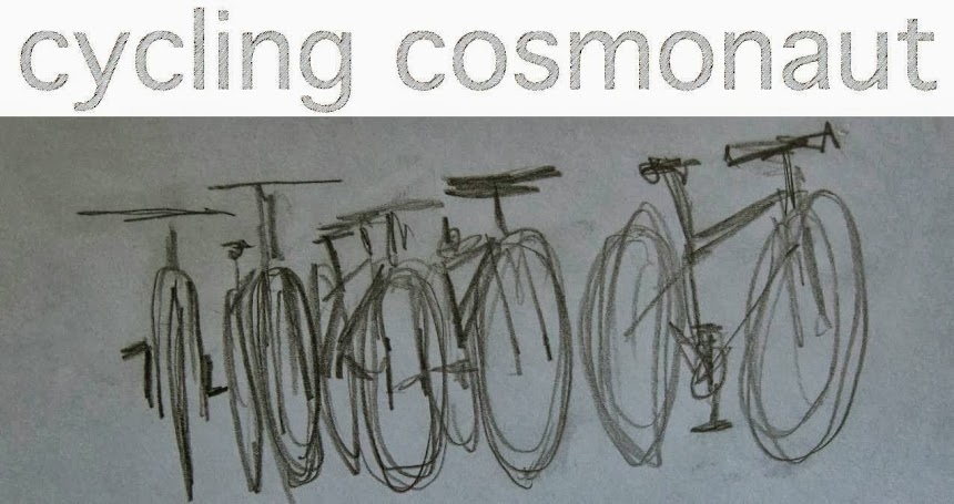 cycling cosmonaut