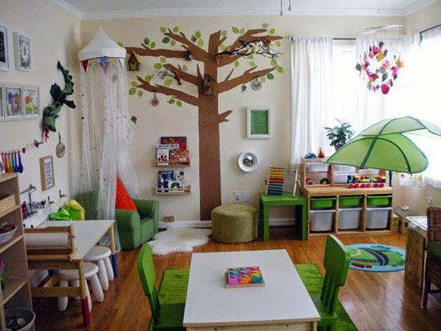 Amenagement salle de jeux montessori 5 ans design de maison - Amenagement chambre montessori ...