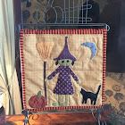 Wendy the Witch Table Stand quilt
