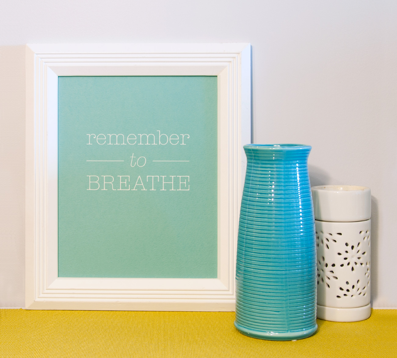 Remember to breathe by Jasmine Habart