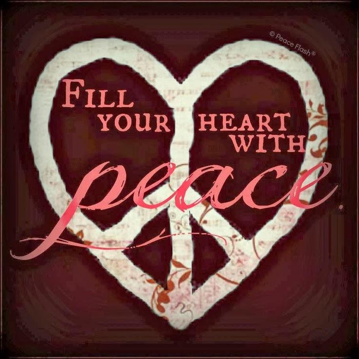 Llena tu corazón de Paz