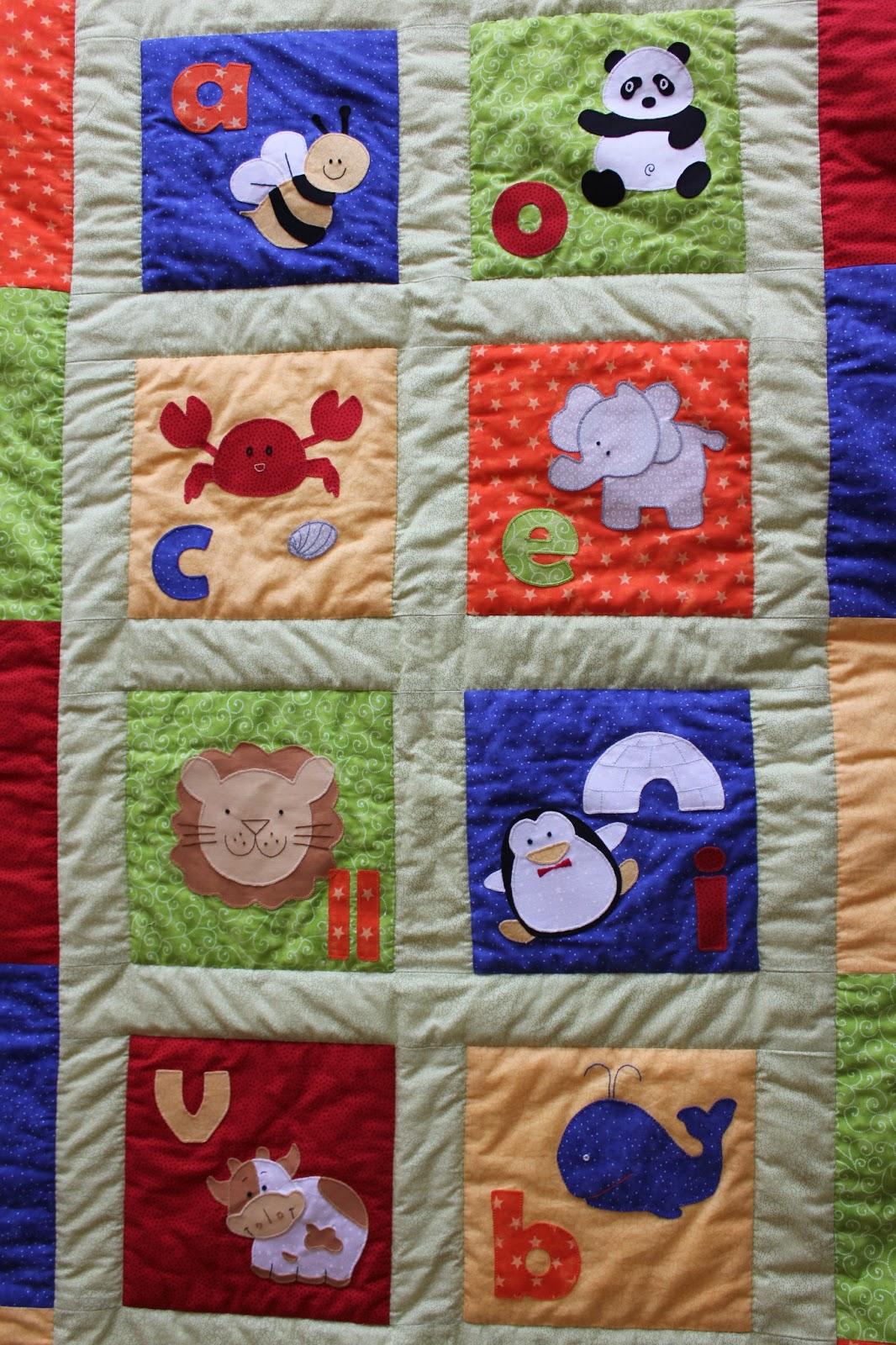 Mi hogar de patchwork colcha para bebe de patchwork - Patrones para colchas de patchwork ...