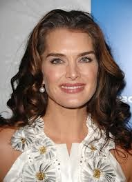 Picture of Model/Actress Brooke Shields who had postpartum depression