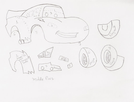 Patrones para cars - Imagui