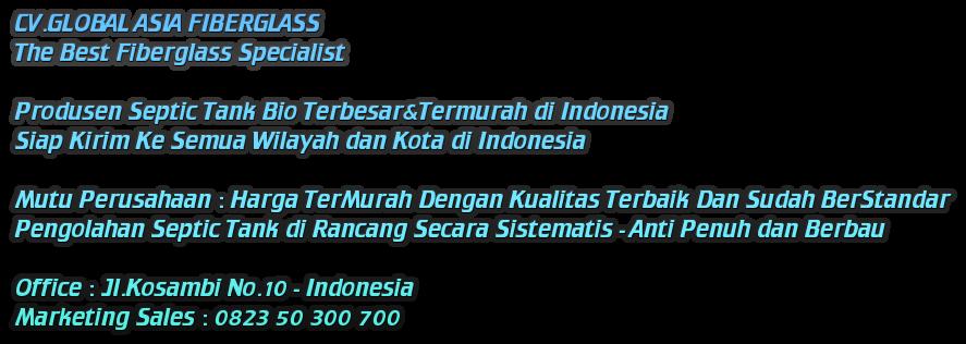 Jual Bio Septic Tank Murah - 0823 50 300 700