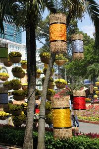 Flower festival on Nguyễn Huệ boulevard