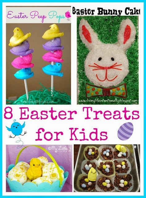 http://www.messforless.net/2013/03/8-easter-treats-for-kids-food-fun-friday.html