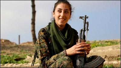 Mulheres cristãs contra o Estado Islâmico