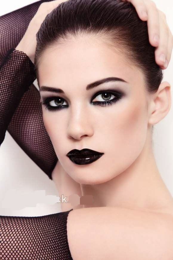 Gothic Wedding Makeup : How to Apply Goth Makeup Beauty Care - Beauty blog