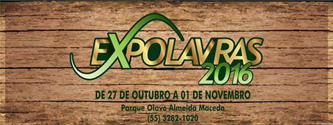 Confira a Programação da ExpoLavras 2016