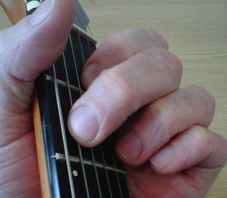 E7 Guitar Chord fingering