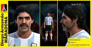 Download Face Diego Maradona PES 2013