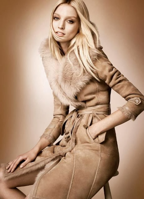 Winter Fall Dress Collection 2013-2014 | Rose Gold Winter Fall Dress Collection 2013-2014 For Ladies By The Burberry