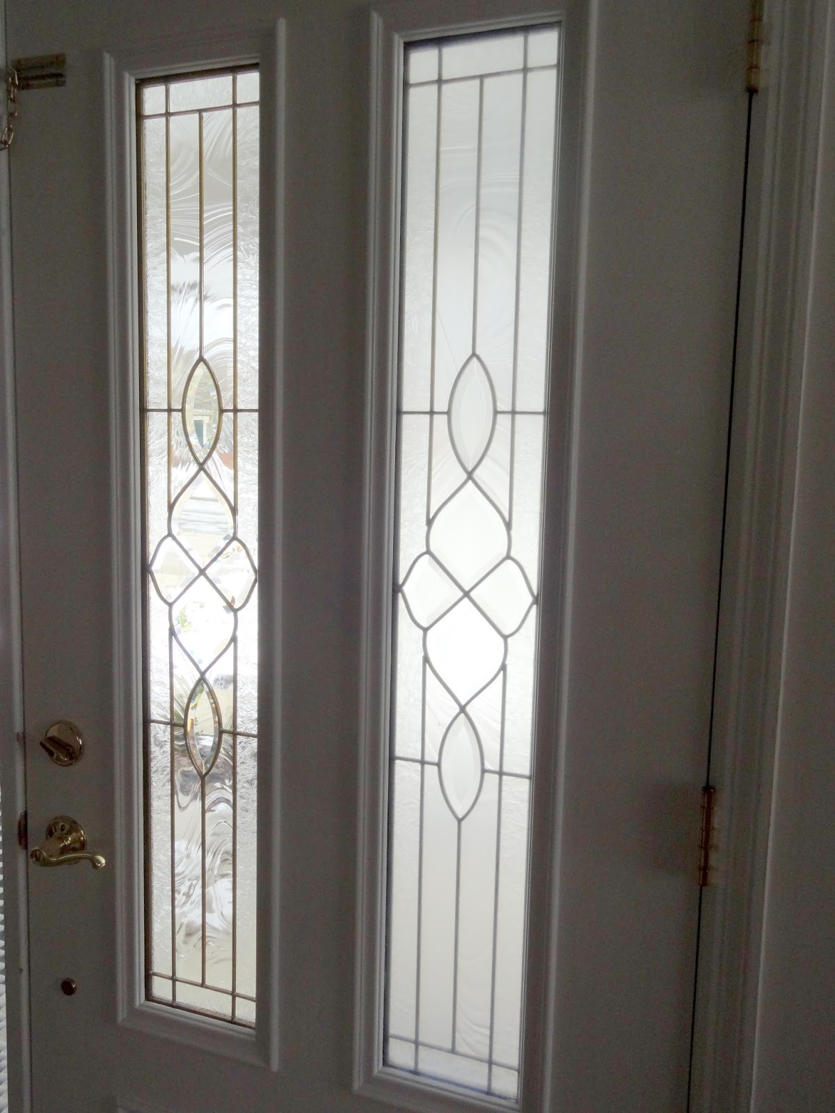 Just because sidelight window and front door privacy for Glass privacy window