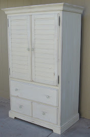 Creamy Armoire (SOLD)