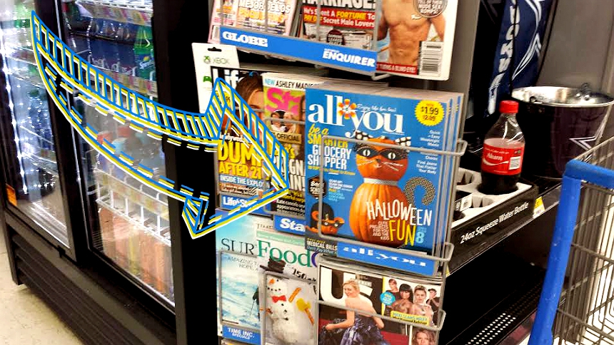 Save with the September/October issue of ALL YOU magazine, on racks at Walmart. #ReadySetSnack (ad)