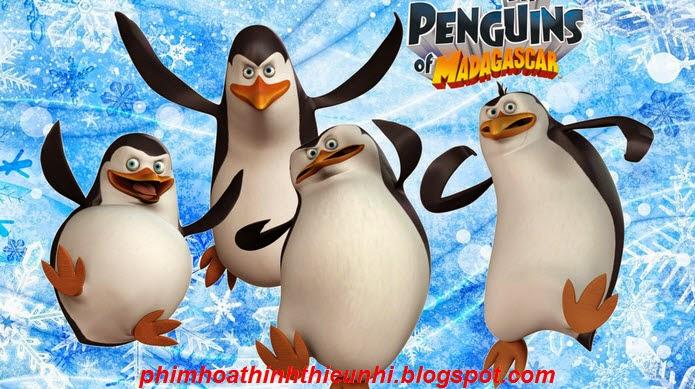 Penguins Of Madagascar - Những chú chim cánh cụt đến từ Madagascar