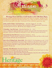 Artisan Classes Flyer