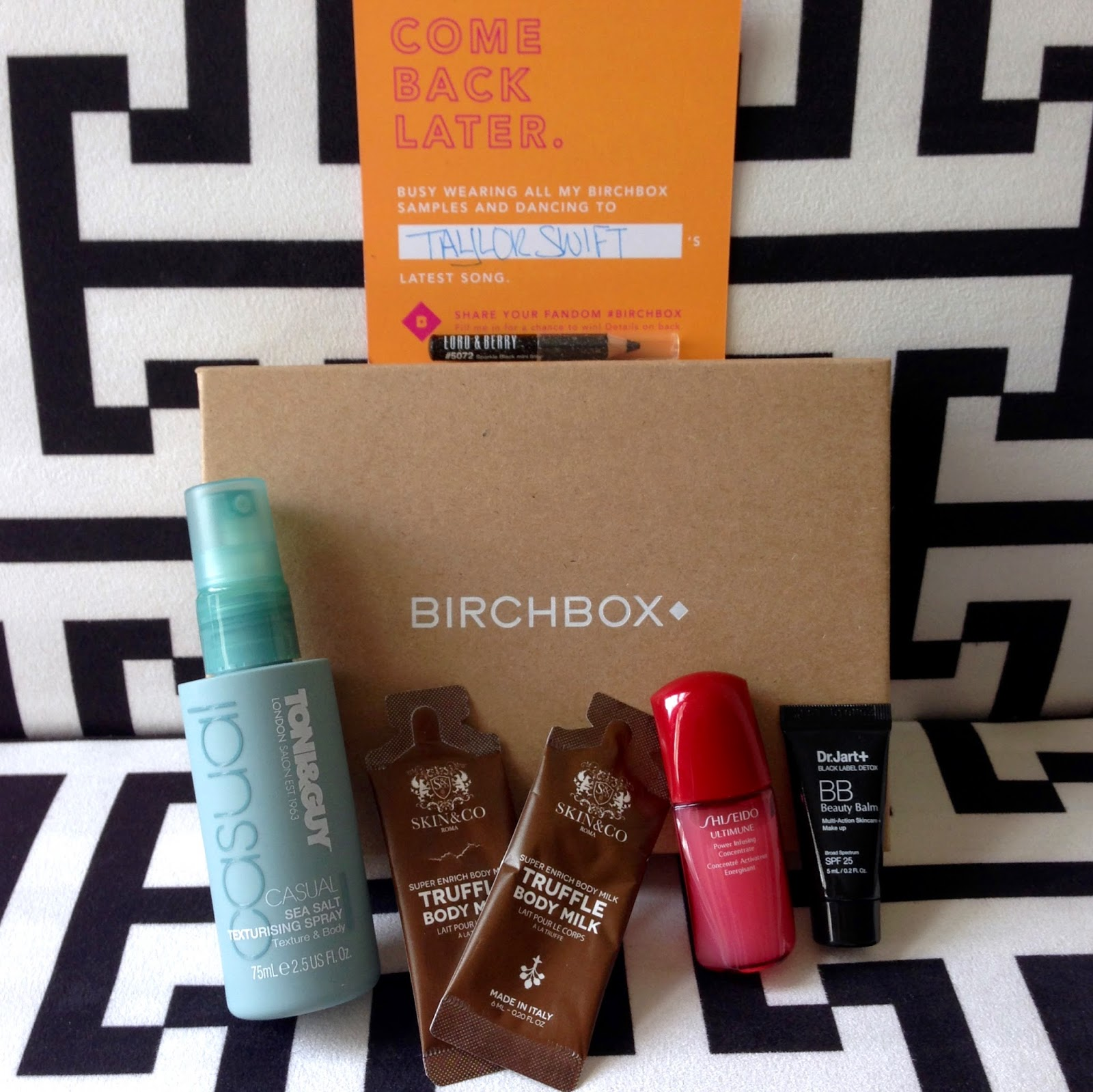 Birchbox, subscription box, beauty box