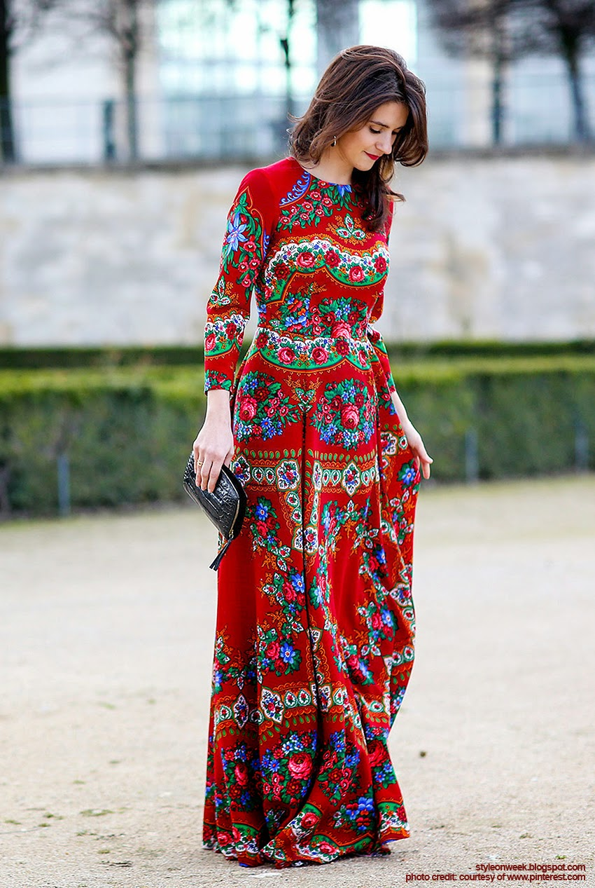 Fabulous Street Style from Paris Fashion Week Autumn-Winter 2014 Part 1