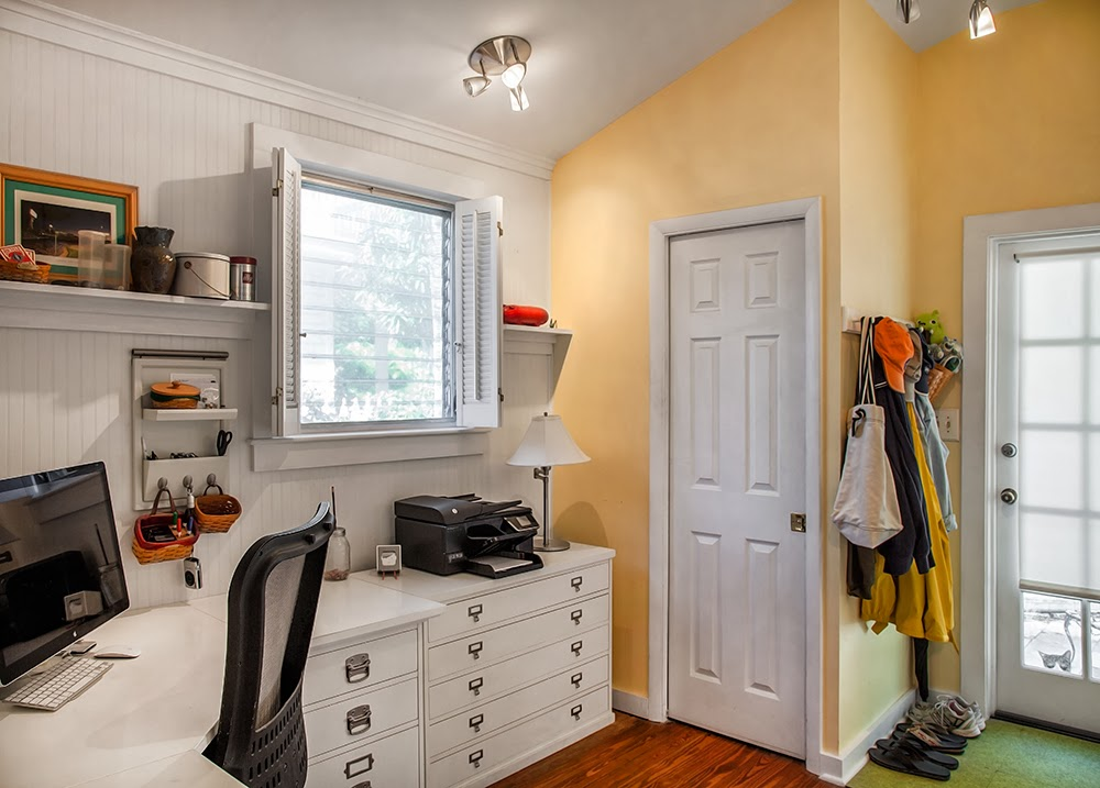 Inside of 1407 White Street has been recently renovated