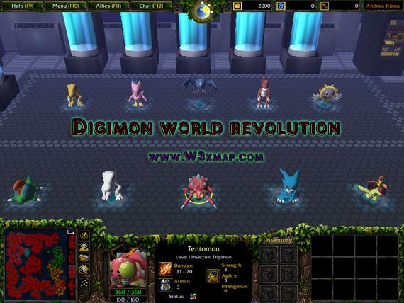 Digimon world revolution v1.1a on
