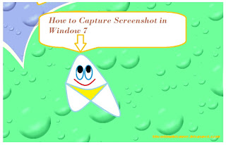 Capture Screenshots in Window 7