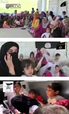 Women and children: kidnapped by Syria's rebels