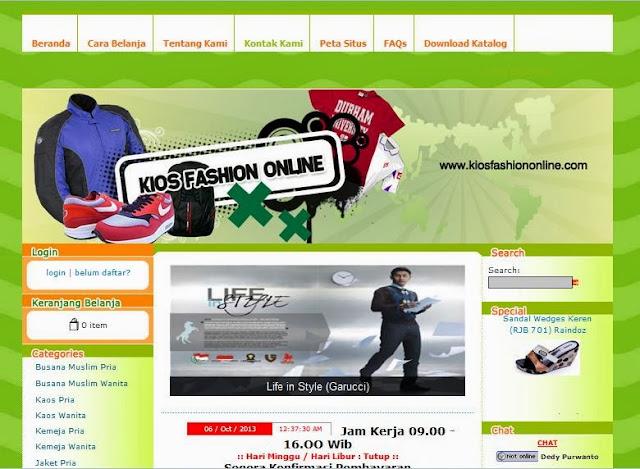kios fashion online toko online terpercaya