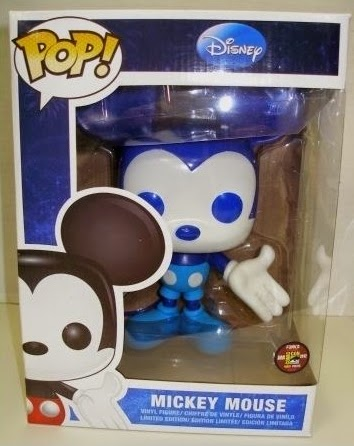 "Mickey Mouse 9"" Funko Pop! Blue Colorway"