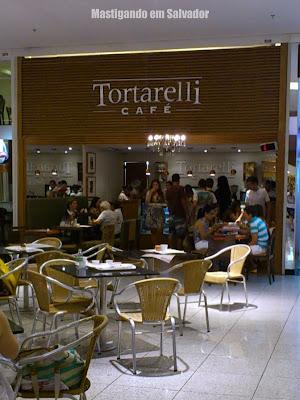 Tortarelli Café: Fachada da loja do Salvador Shopping