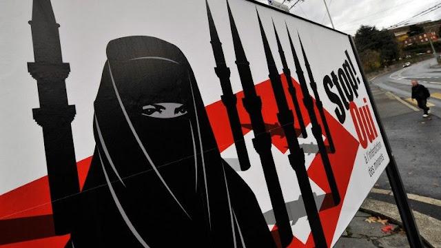 Usar burqa na Suíça pode dar multa de 9 mil euros