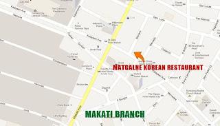 Map to Matgalne Korean Restaurant Makati
