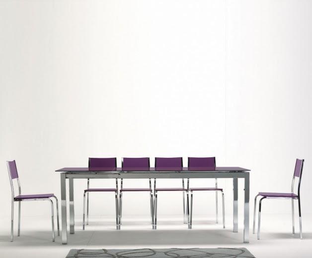 mesa cocina grande extensible chalet