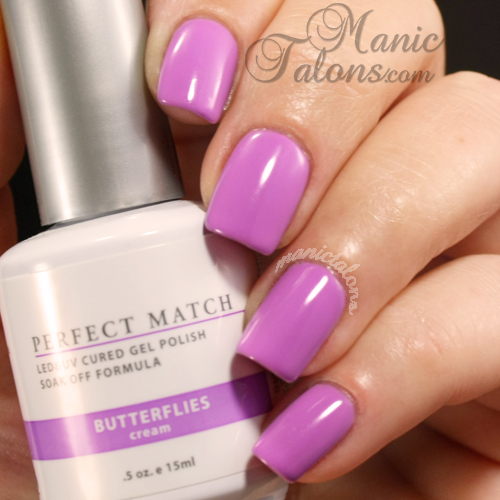 LeChat Perfect Match Gel Polish Swatch Butterflies