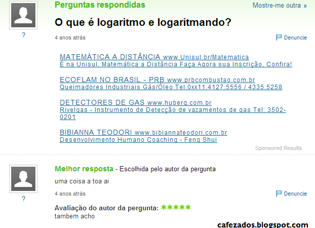 O que é logaritmo e logaritmando?