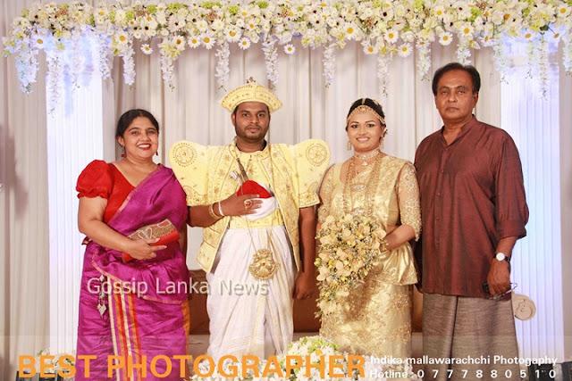 Srilankan actor Giriraj's Daughter's Wedding Photo ~ Sri ... Nehara Peiris And Menaka Rajapaksha Wedding