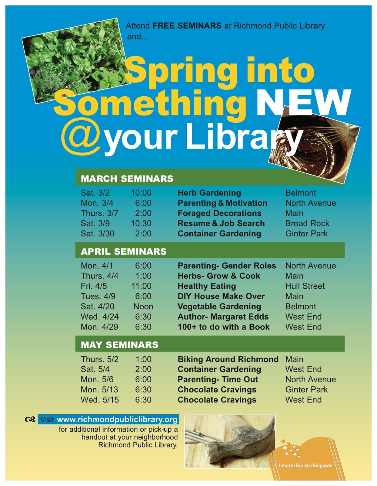 Richmond Public Library Staff Picks February 2013