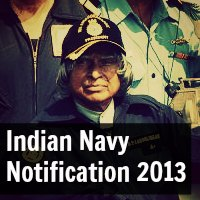 Indian Navy SSC In Executive (General Service) And Technical Branches Notification Dec 2013