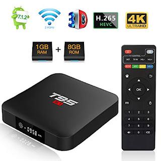 US 2019 MXQ PRO BOX 4K Ultra HD 3D Android 7.1 Quad Core SMART TV Box 8GB ROM