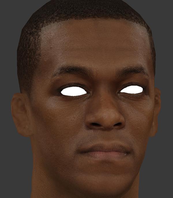 NBA 2K14 Rajon Rondo HD Face Texture Mod