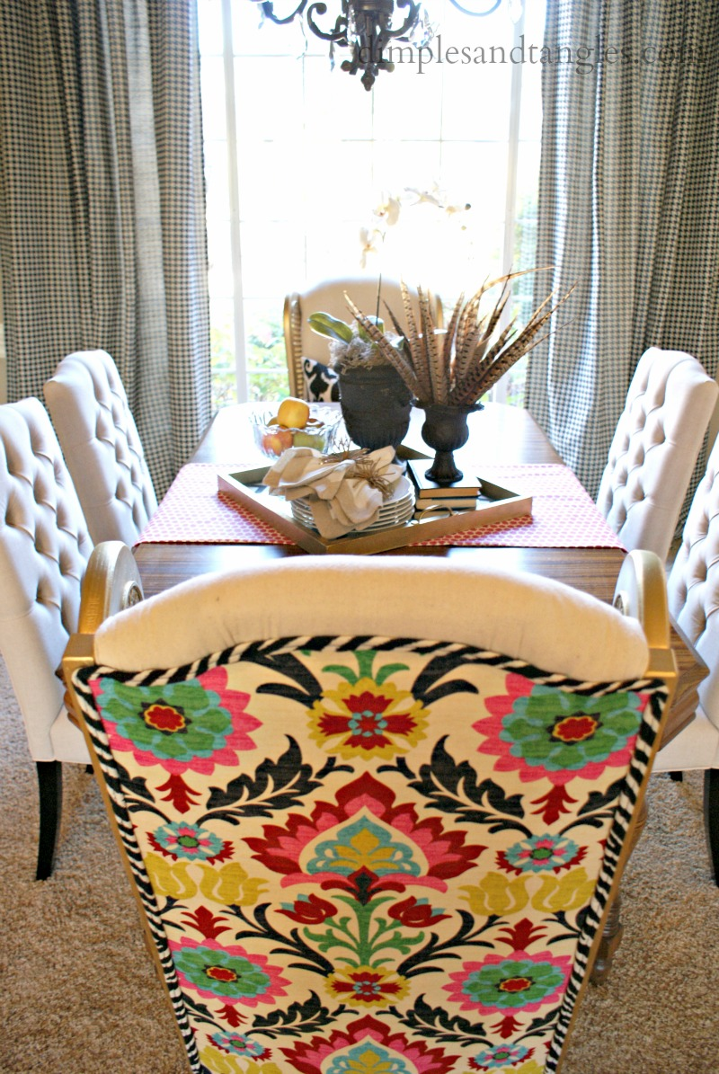 dining room host chairs ta da dimples and tangles. Black Bedroom Furniture Sets. Home Design Ideas