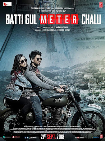 Poster Of Bollywood Movie Batti Gul Meter Chalu 2018 300MB Pdvd Full Hindi Movie