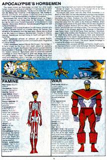 Jinetes del Apocalipsis (ficha marvel comics)