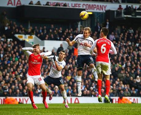Liga Inggris : Spurs 2 – 1 Arsenal