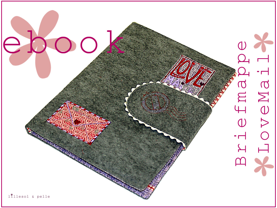 Ebook Briefmappe LoveMail / Weihnachtskleid Sew Along | lillesol ...
